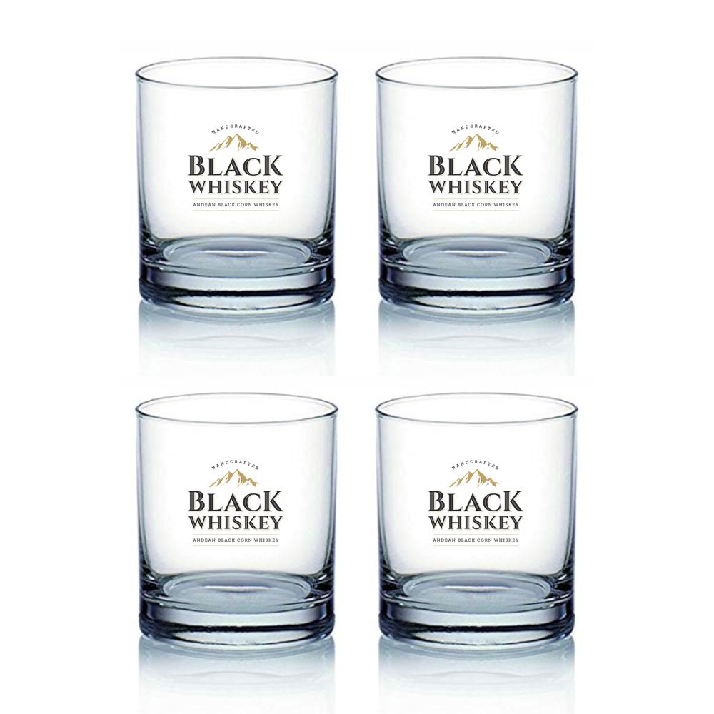4 Vasos de Whiskey